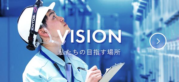 VISION 私たちの目指す場所